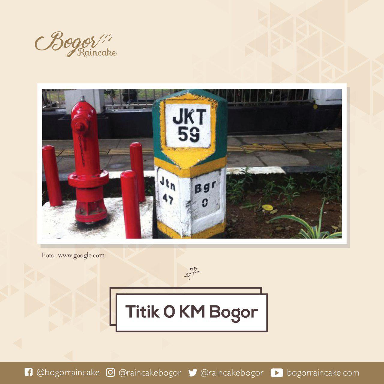 Ketika Bogor dimulai dari Depan Istana Kepresidenan
