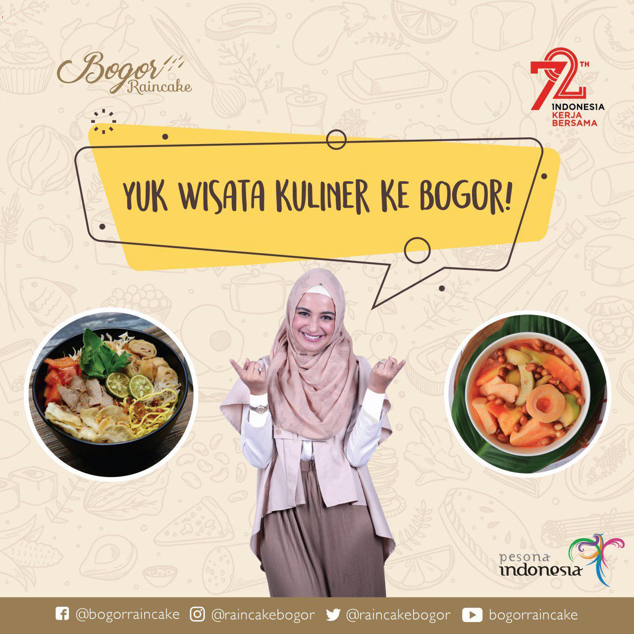 Yuuk Wisata Kuliner Ke Bogor Bogor Rain Cake
