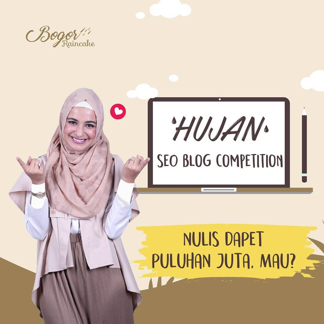 Raincakers, Ayo Ikutan 'HUJAN' SEO BLOG COMPETITION