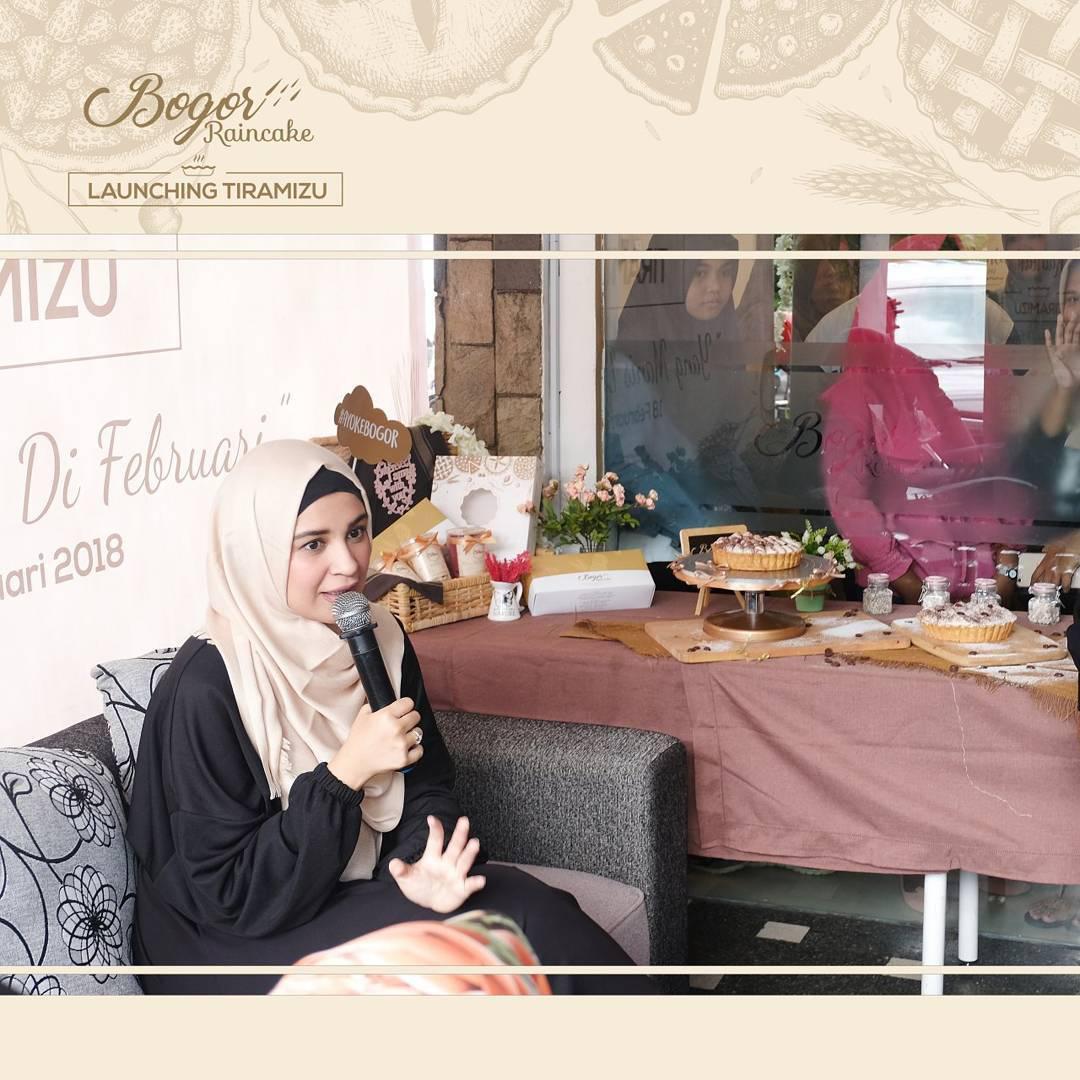 Launching Raintart Tiramizu, Varian Terbaru Bogor Raincake