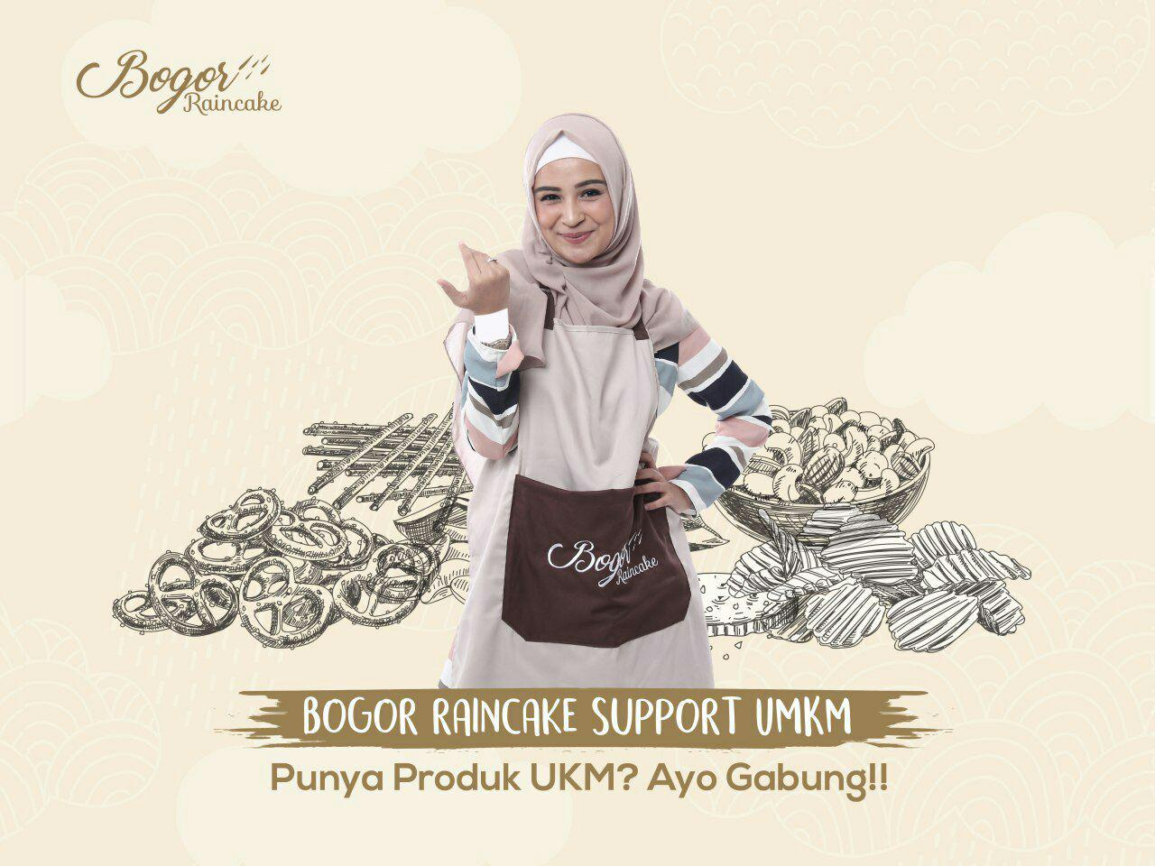 Bogor Raincake Support UMKM Bogor