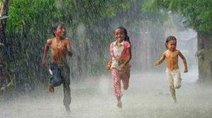 Bermain Hujan di Kota Bogor