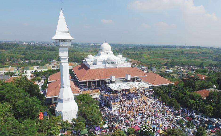 Megahnya Masjid Az-Zikra Sentul Bogor