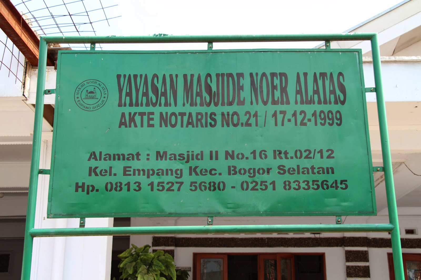 Masjid Bogor Ini Begitu Kental Akan Sejarah Islam