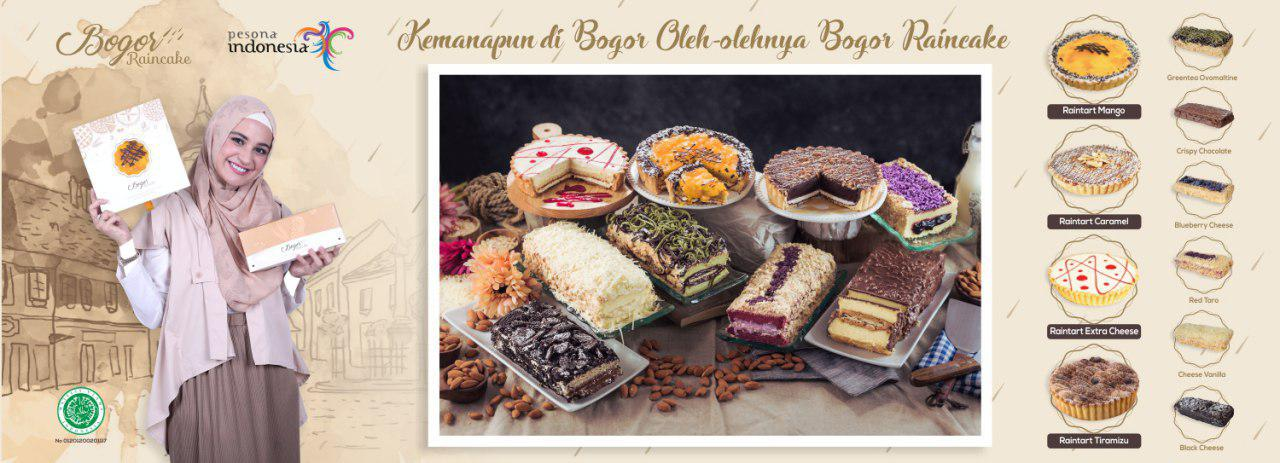 Bogor Raincake, Pusat Oleh-oleh Bogor Terlengkap !
